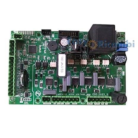 Tarjeta Unidad de control Micronova I023-5 para estufa de pellets de aire o hidro: Amazon.es: Hogar