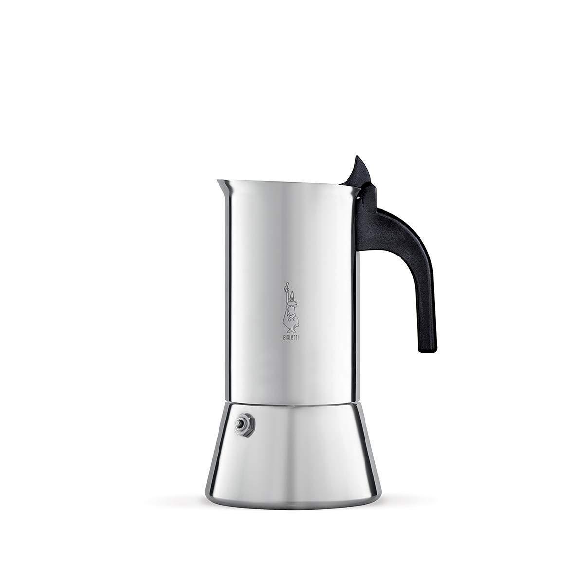 Bialetti Venus - Cafetera de Acero Inoxidable para 6 Tazas: Amazon ...