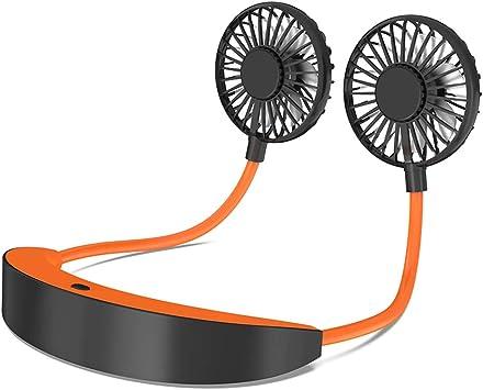 AISIR Ventilador USB Portátil, Ventilador Cuello Mini Ventilador ...