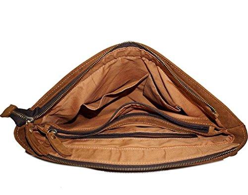 Solo de Manera de de los Compras Viaje Bolso Bolso Cartera Bolso Hombres la computadora de BAO de la Hombro Cuero Bolso Mensajero de xYwqzWn65F
