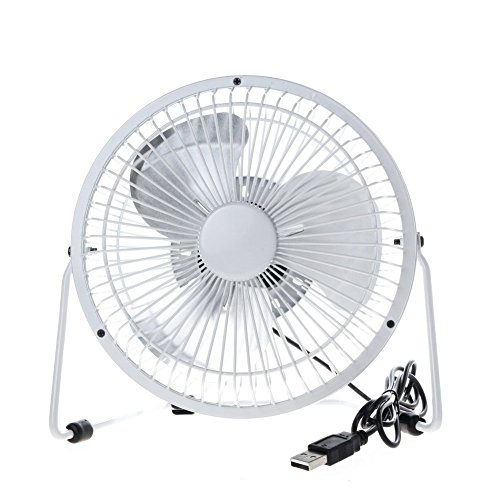 Cooling Off With Fan : Momoday degree rotating rotatable fan usb powered