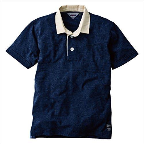 中国産業(チュウゴクサンギョウ) 半袖ラガーシャツ 作業シャツ 半袖ラガーシャツ cs-1254