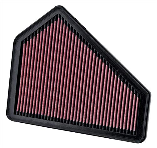 K&N engine air filter, washable and reusable:  2008-2015 Cadillac CTS and CTS-V 33-2411