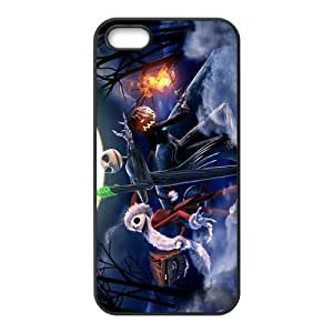 Customiz Cartoon Movie Nightmare Before Christmas Back Case for iphone 5 5S JN5S-2518