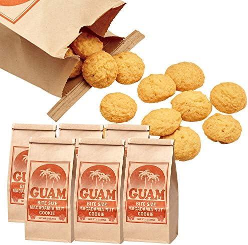 グアム マカデミアナッツ クッキー 6袋セット【グァム おみやげ(お土産) 輸入食品 スイーツ】