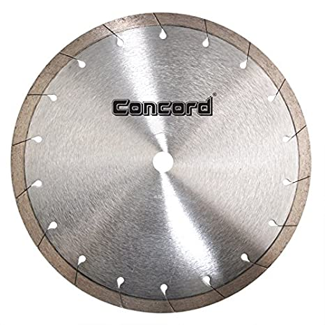 Concord Blades CRI100G10HP 10 Inch Continuous Rim Tile Diamond Blade with Tear-Slot