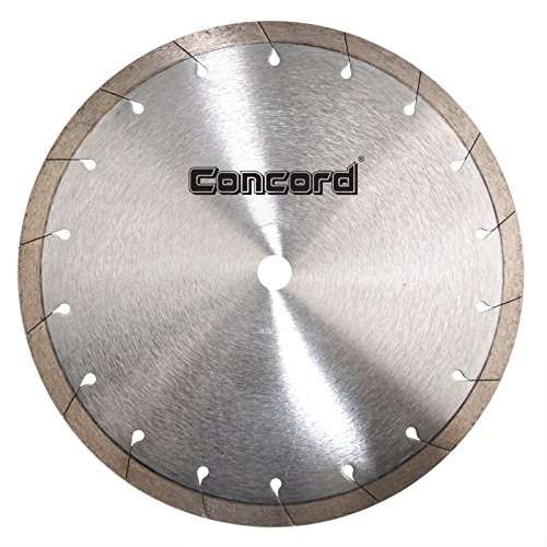 Concord Blades CRI100G10HP 10 Inch Continuous Rim Tile Diamond Blade with Tear-Slot by Concord Blades
