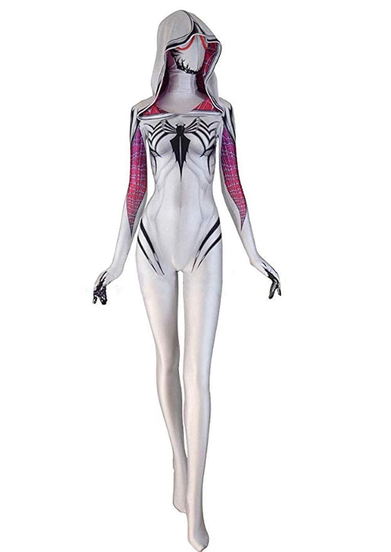 MaeFte 3D Halloween Costumes Lycra Spandex Bodysuit