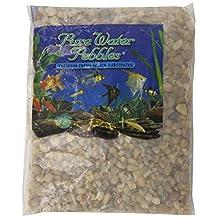 Pure Water Pebbles Aquarium Gravel, 2-Pound, Cumberland River Gems