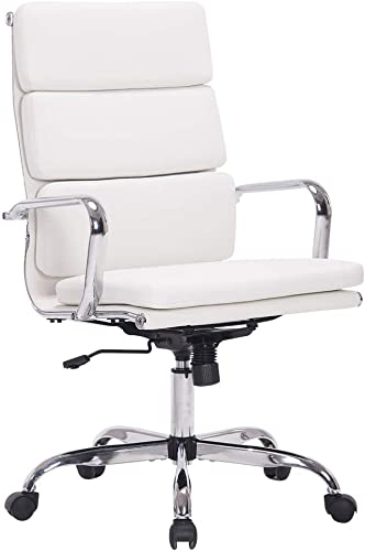 Sidanli White Ergonomic Office Chair