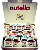 Nutella Gift Box - Delicious Nutella Chocolate - B Ready - Mini Jars - Singles - Nutella & Go