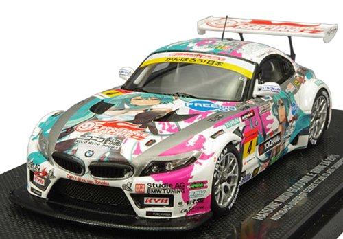 初音ミク GOODSMILE BMW Z4 2011 シリーズ優勝 Ver.(1/43スケールレジン製塗装済み完成品ミニカー) B0073CDKHI