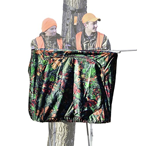 Rivers Edge RE768 TwoPlex Ladder Stand Curtain