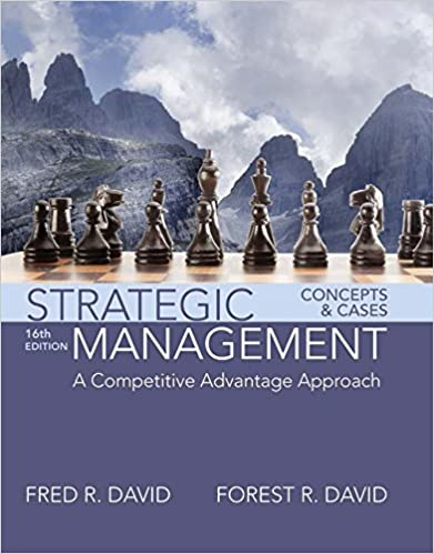 Amazon strategic management a competitive advantage approach strategic management a competitive advantage approach concepts and cases 16th edition kindle edition fandeluxe Image collections