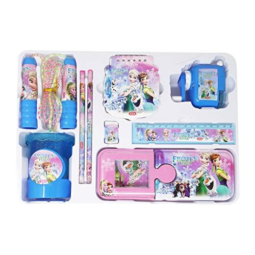 Parteet® Mix Stationary kit Set for Kids (Frozen Multicolour)