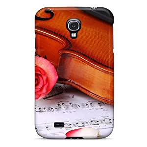 High-end Case Cover Protector For Galaxy S4(classic Musical)