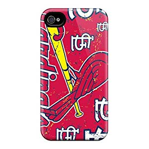 Excellent Hard Cell-phone Cases For Iphone 6 (VhA4283SHLp) Unique Design High Resolution St. Louis Cardinals Image hjbrhga1544