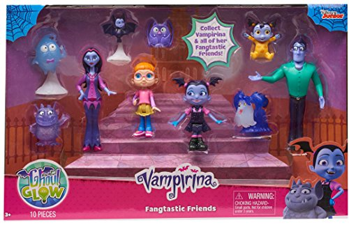 Vampirina Just Play Fantastic Friends Set Toy Activity Role