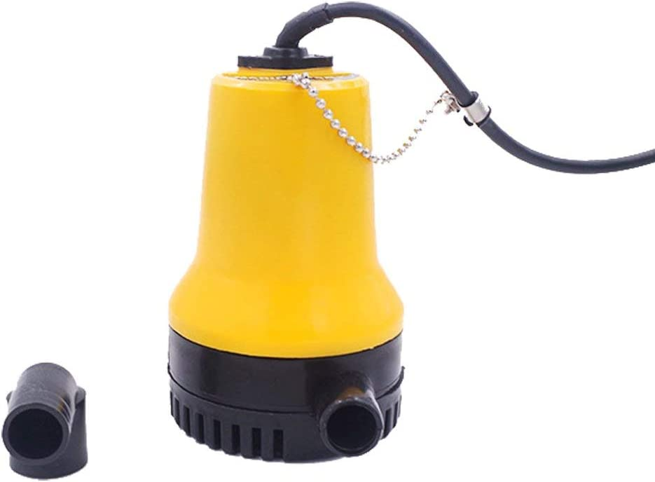 ZHITING Bomba de agua sumergible Clear Swimming DC 12V 50W 4200L / H Limpio Sucio Natación Limpio Piscina Estanque Limpieza Inundación