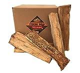 Smoak Firewood Cooking Wood Logs - USDA Certified Kiln Dried (White Oak, 16in Pieces (60-70lbs))