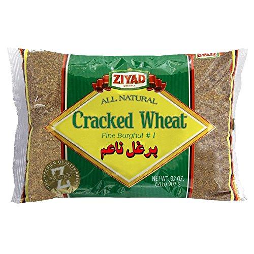 Ziyad Cracked Wheat #1 32 OZ, (Pack 1) -