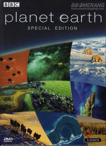 Planet Earth BBC(Special Edition) Box Set 5 Disc With Exclusive Bonus Disc for All Region/NTSC