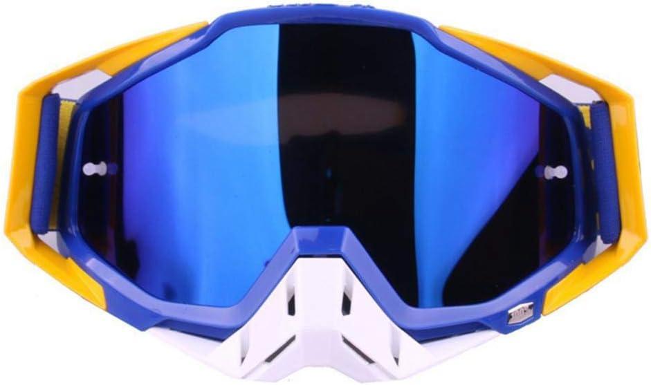 TUWEN Gafas De Esquí Motos Gafas Gafas Gafas Cross Racing Personalidad Deporte Simples Hombres Y Mujeres Adecuadas para Montar A Caballo De Esquí Al Aire Libre Escalada del Montar A Caballo