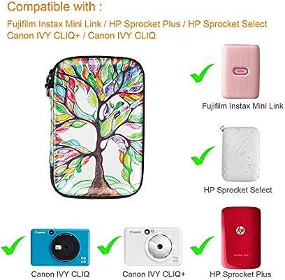Fintie Funda Portátil para HP Sprocket Plus, Canon Ivy CLIQ/Ivy ...