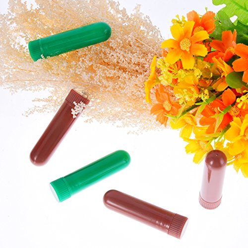eBoot 28 Sets Essential Oil Aromatherapy Nasal Inhalers Tubes Refillable Inhaler Stick, 7 Colors, with Wicks by eBoot (Image #4)