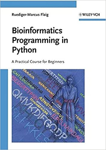 Book Bioinformatics Programming in Python: A Practical Course for Beginners
