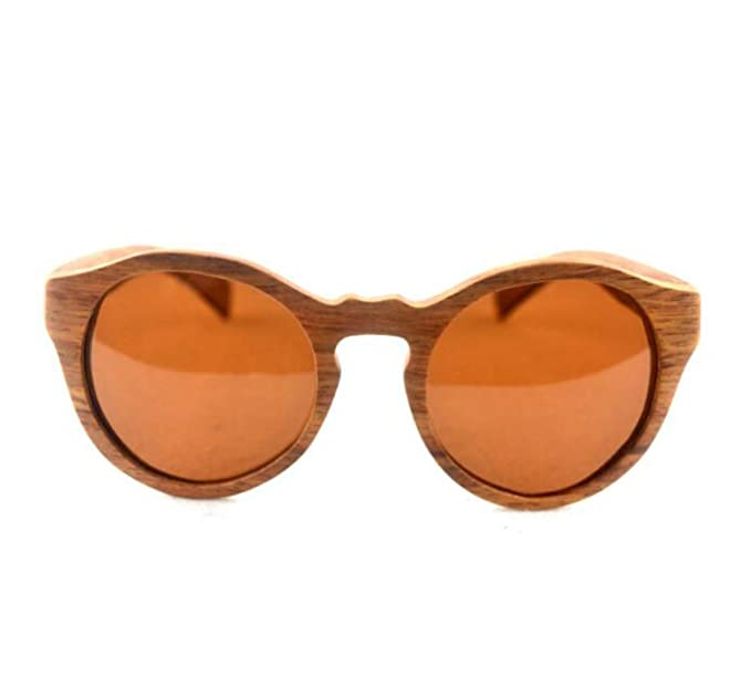 Madera Gato Gafas De Sol Polarizadas,RosewoodTea-L