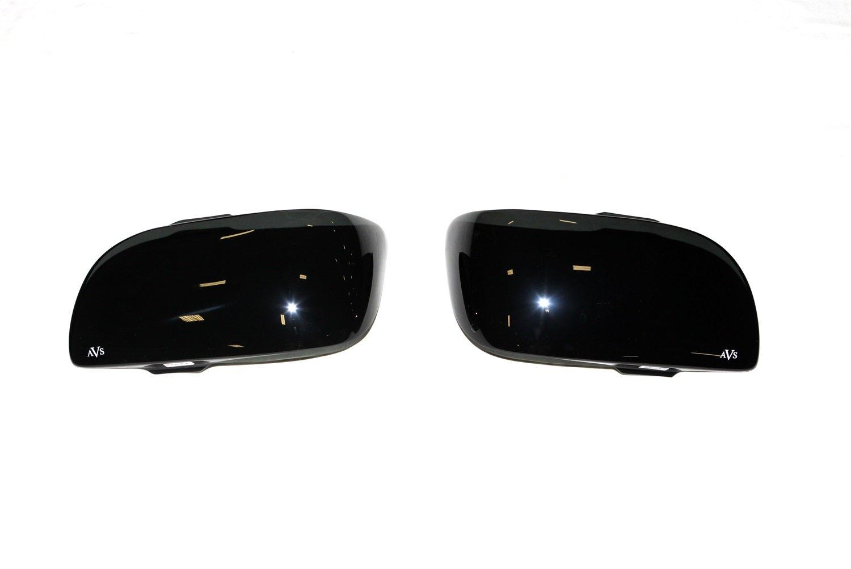 Auto Ventshade 37617 Dark Smoke Headlight Covers for 2001-2004 Toyota Tacoma