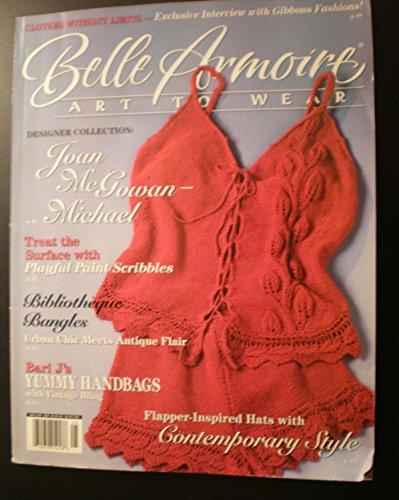 Belle Armoire, Art to Wear, May/June 2008 (Vol. 8, Issue 3) (Elizabeth Armoire)