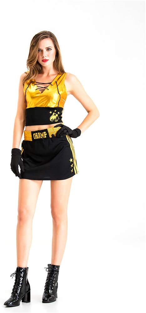 WLXW Disfraz de Boxeadora de Cosplay, Fiesta de Disfraces de ...