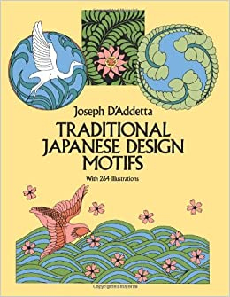 traditional japanese design motifs dover pictorial