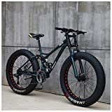 NENGGE Mountain Bikes, 26 Inch Fat Tire Hardtail