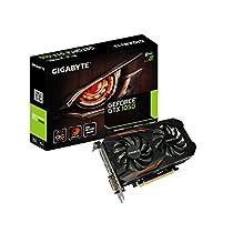 Gigabyte Geforce GTX 1050 G1Gaming  2GB Graphic Card Black, Boost Clock 1518 MHz , GV-N1050OC-2GD