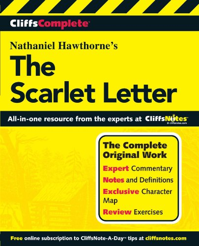 (CliffsComplete The Scarlet Letter (Cliffs Complete Study Editions))
