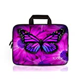 """iColor 12.9"""" 13"""" 13.3"""" Tablet Laptop Ultra-Portable Neoprene Sleeve Carrying Case Briefcase Handle Bag Pouch Tote for Apple iPad Pro, MacBook Air / Pro New Retina, Toshiba Chromebook, DELL XPS 13, HP EliteBook 840, Lenovo Yoga 3 Pro"""