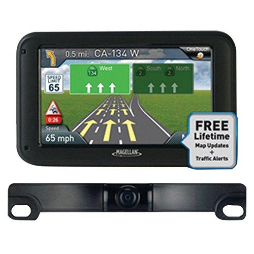 Magellan RoadMate 5255TLM 5 GPS Device W/Backup Camera RM5255SGBUC Consumer Electronics