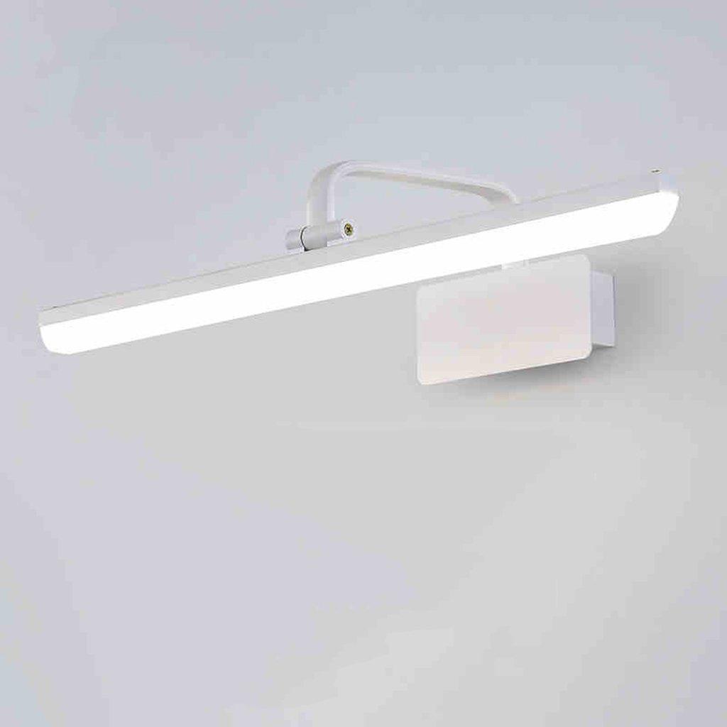 &Spiegelleuchte Spiegel Front Ligh, Badezimmer American minimalistischen Led Bad Schrank Licht Wandleuchte Spiegelschrank Lampe Kommode Lampe (Größe   57cm)