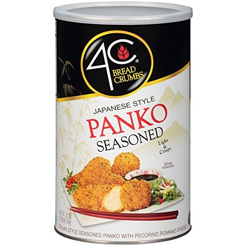 4C Panko Seasoned Bread Crumbs 25 oz. (Pack of 3) by 4C (Image #1)