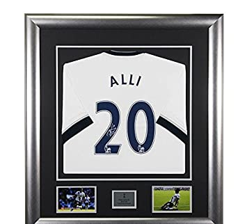 separation shoes 97112 6f493 Signed Dele Alli Spurs Framed Shirt - Tottenham Hotspur ...