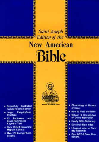 New American Bible: St. Joseph Edition : Brown Leather
