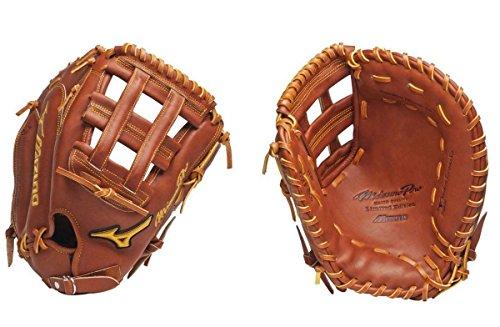Mizuno GMP300 Pro Baseball First Base Mitt (Chestnut, 13.00-Inch, Right Handed Throw) (Mizuno First Base Glove)