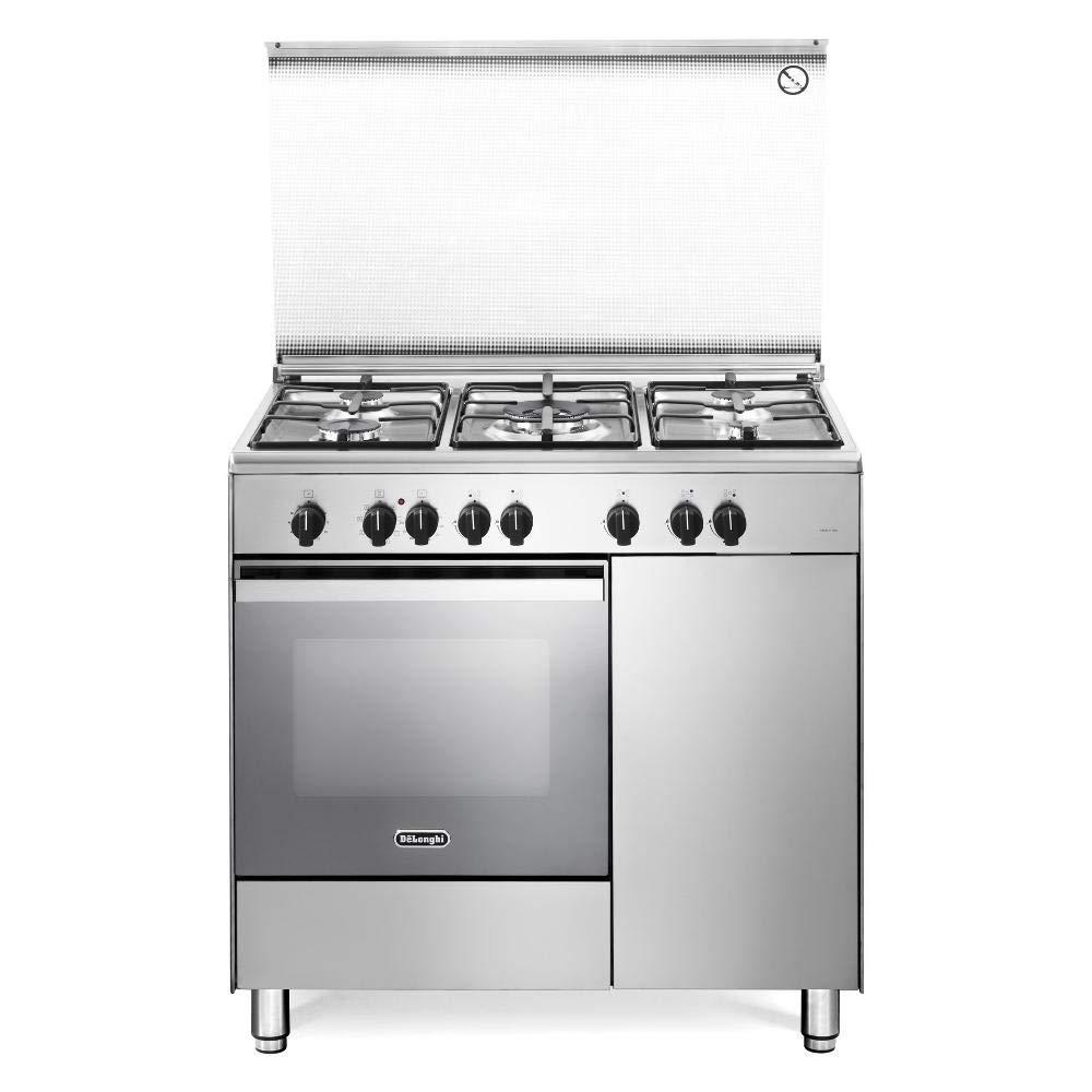 De Longhi DEMX 96 B5 ED - Cocina de gas con horno eléctrico ...