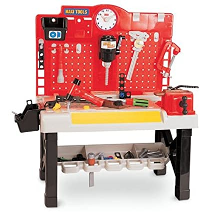 Sensational Amazon Com Kids Pretend Play Tool Work Bench Garage For Caraccident5 Cool Chair Designs And Ideas Caraccident5Info