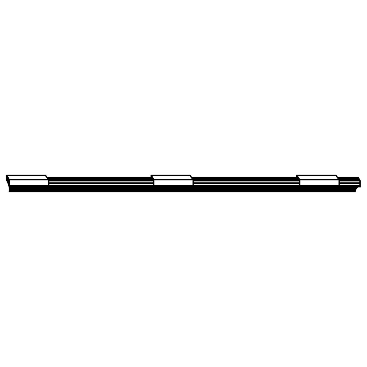 24 in Pack of 1 ACDelco 8-5246 Professional Narrow OE Wiper Blade Refill
