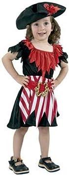 Disfraz niña Pirata - talla 3 - 4 años: Amazon.es: Juguetes y juegos