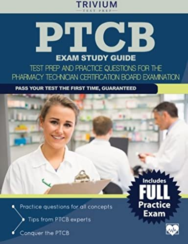 ptcb exam study guide test prep and practice questions for the rh amazon com ptcb study guide 2018 ptcb study guide 2016